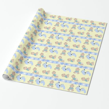 Its a Boy - Toes Wrapping Paper
