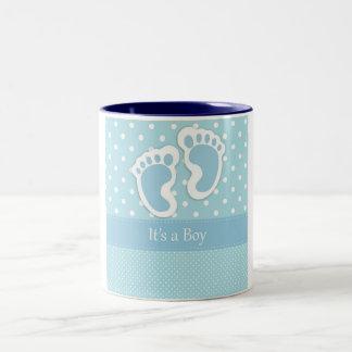 It's A Boy Two-Tone Coffee Mug