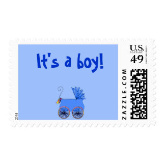 """""""It's a Boy"""" US First Class Postage Stamps"""