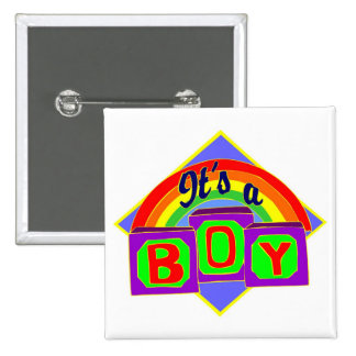 It's a boy with rainbow colors pins