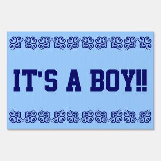 It's a boy signs
