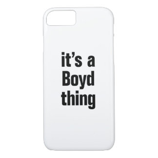 its a boyd thing iPhone 8/7 case