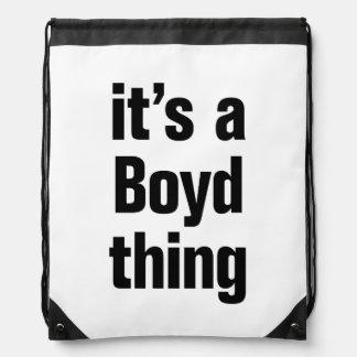 its a boyd thing drawstring backpack