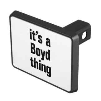 its a boyd thing trailer hitch covers