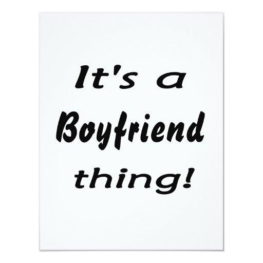 It's a boyfriend thing! announcement