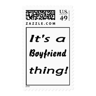 It's a boyfriend thing! stamps