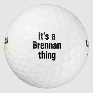 its a brennan thing pack of golf balls