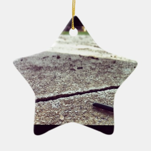 Its a Bugs life Double-Sided Star Ceramic Christmas Ornament