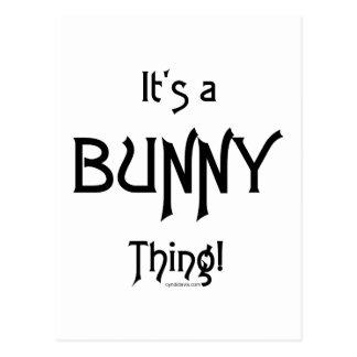 It's a BunnyThing! Postcard