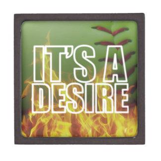 It's A Burning Desire Fastpitch Softball Gift Box