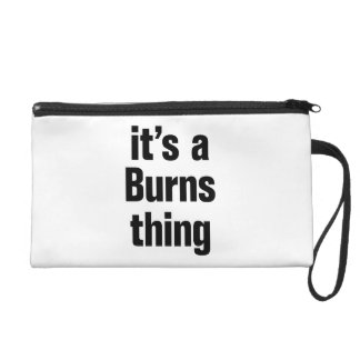 its a burns thing wristlet clutch