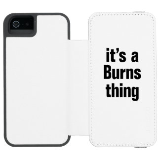 its a burns thing incipio watson™ iPhone 5 wallet case