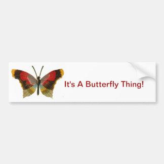 It's A Butterfly Thing Bumper Sticker