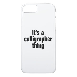 its a calligrapher thing iPhone 8/7 case