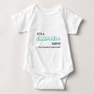It's A CAMPBELL Thing! Baby Bodysuit