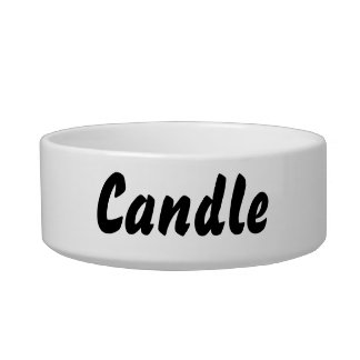 It's a candle thing! bowl