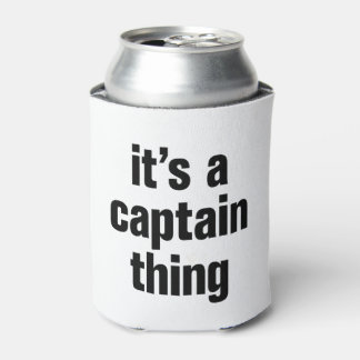 its a captain thing can cooler