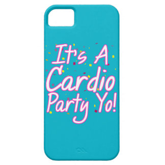 It's a Cardio Party Yo- Pink iPhone SE/5/5s Case