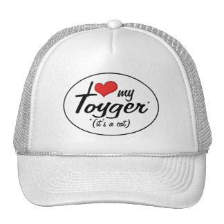 It's a Cat! I Love My Toyger Hat