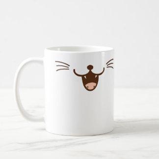 It's a cat! sly smile cat face ( Φ ω Φ ) Coffee Mug