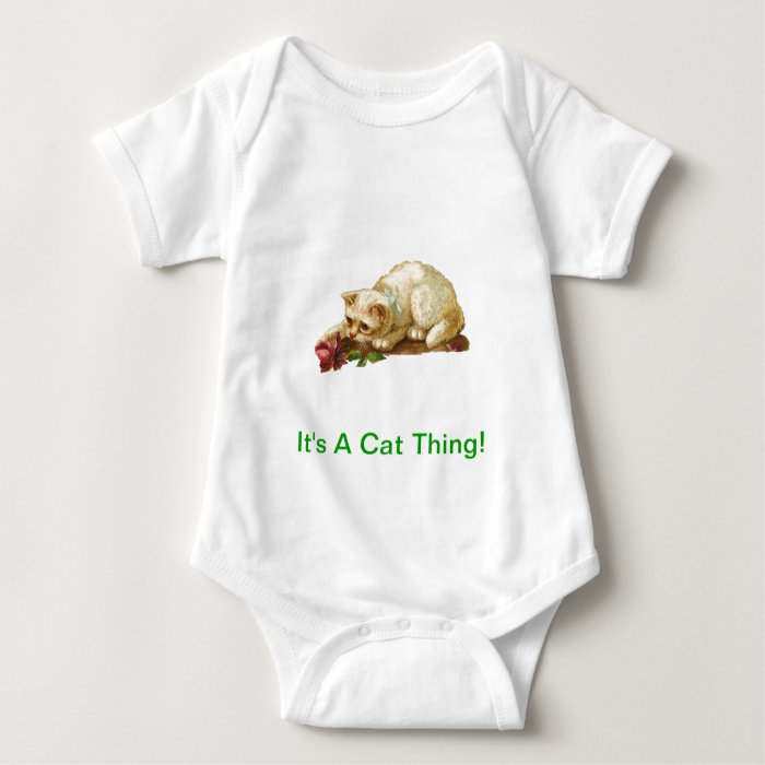 It's A Cat Thing Baby Bodysuit