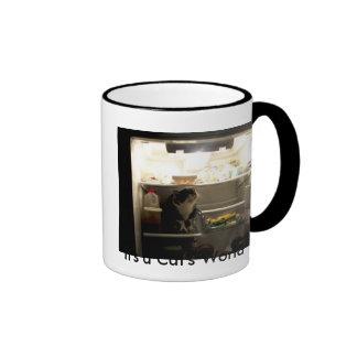 It's a Cat's World Coffee Mugs