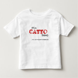 It's a Catto Thing...Toddler Toddler T-shirt