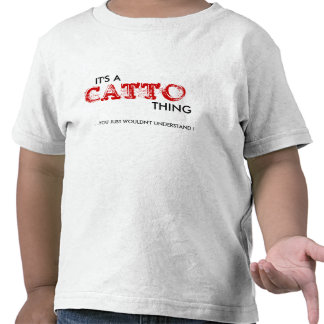 It's a Catto Thing...Toddler T Shirt