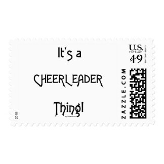It's A Cheerleader Thing Postage