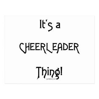 It's A Cheerleader Thing Postcard