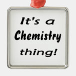 It's a chemistry thing! Science attitude design Christmas Tree Ornaments