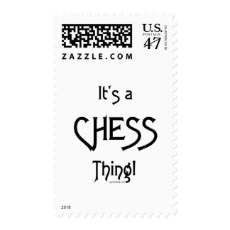 It's a Chess Thing! Postage