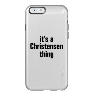 its a christensen thing incipio feather® shine iPhone 6 case