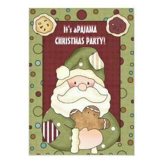 It's a Christmas Pajama Party Invitation