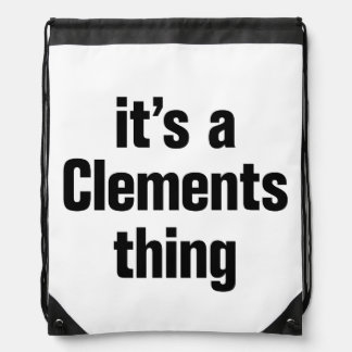 its a clements thing cinch bag