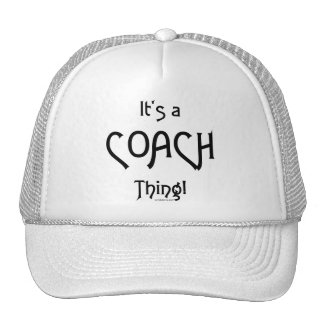 It's a Coach Thing! Mesh Hat