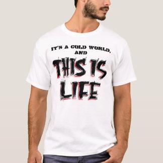 It's a cold t-shirt... T-Shirt