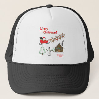 It's a Colorful Christmas! Trucker Hat