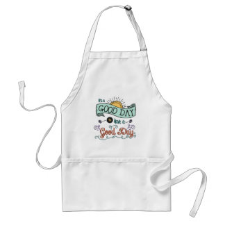 It's a Colorful Good Day by Jan Marvin Adult Apron