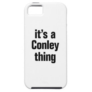 its a conley thing iPhone 5 case