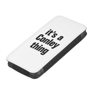 its a conley thing iPhone 5 pouch