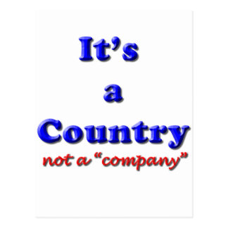 It's a Country Postcard