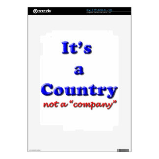 It's a Country iPad 2 Decal