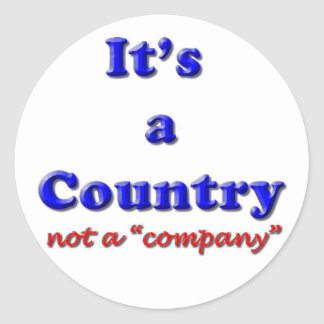 It's a Country Stickers