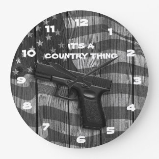 It's A Country Thing Wallclocks