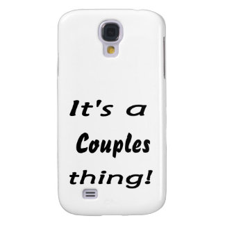 It's a couples thing! galaxy s4 case