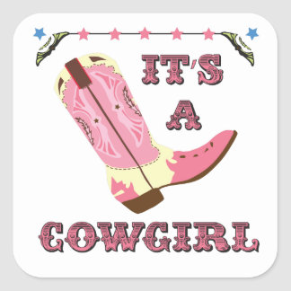It's a cowgirl sticker