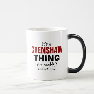 It's a Crenshaw thing you wouldn't understand 11 Oz Magic Heat Color-Changing Coffee Mug