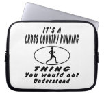 It's a Cross Country Running thing Computer Sleeve