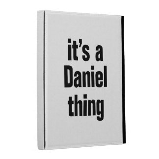 its a daniel thing iPad case